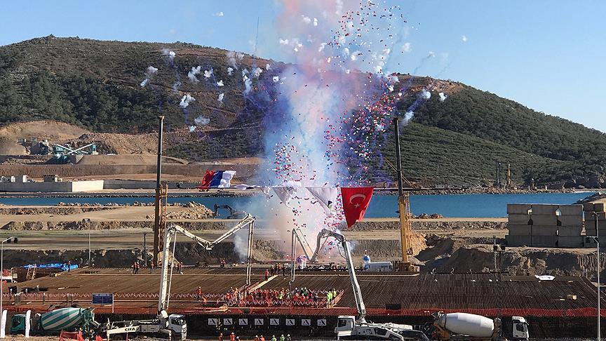 Akkuyu Nükleer AŞ ile TEİAŞ arasında elektrik bağlantı anlaşması imzalandı