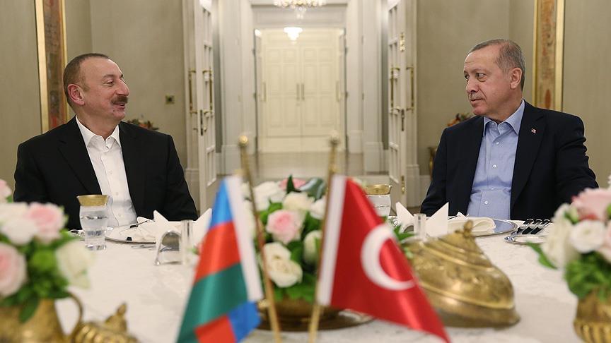 Azerbaycan Cumhurbaşkanı Aliyev: Azerbaycan devleti ve halkı Türkiye'nin yanındadır