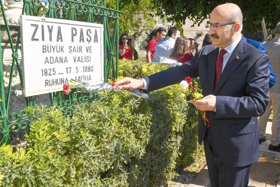 Ziya Paşa, Vefatının 138. Yıldönümünde Düzenlenen Törenle Anıldı