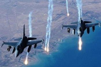 F-16'lara Suriye tacizi