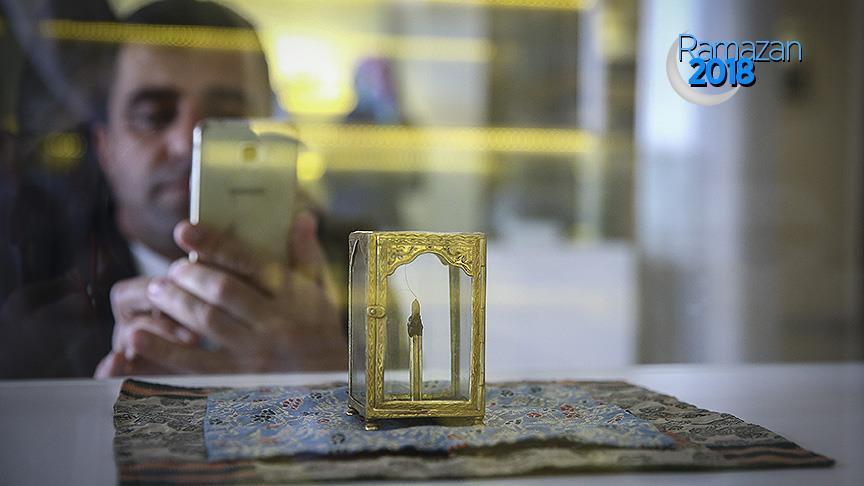 Hazreti Muhammed'in mukaddes hatıraları sergileniyor