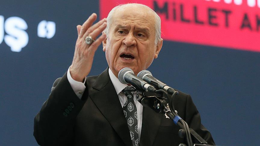 Bahçeli: CHP çıkmaz siyasete hapsolmuştur..