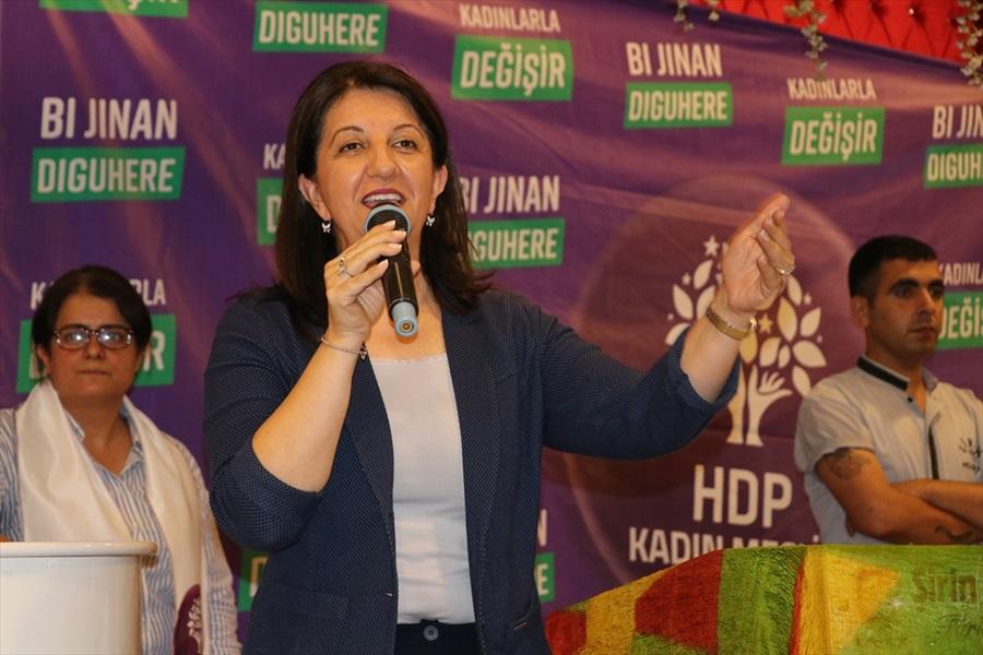 HDP Eş Genel Başkanı Buldan Adana'da