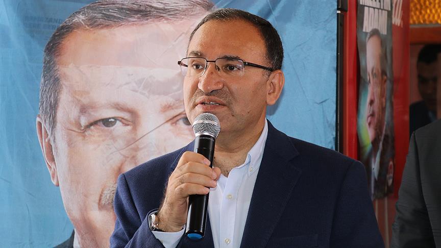 Bozdağ: İftiralarının hesabını Anadolu Ajansı'na verecekler