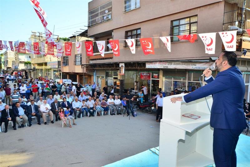 Adana'da 200 MHP'li Saadet Partisine Geçti