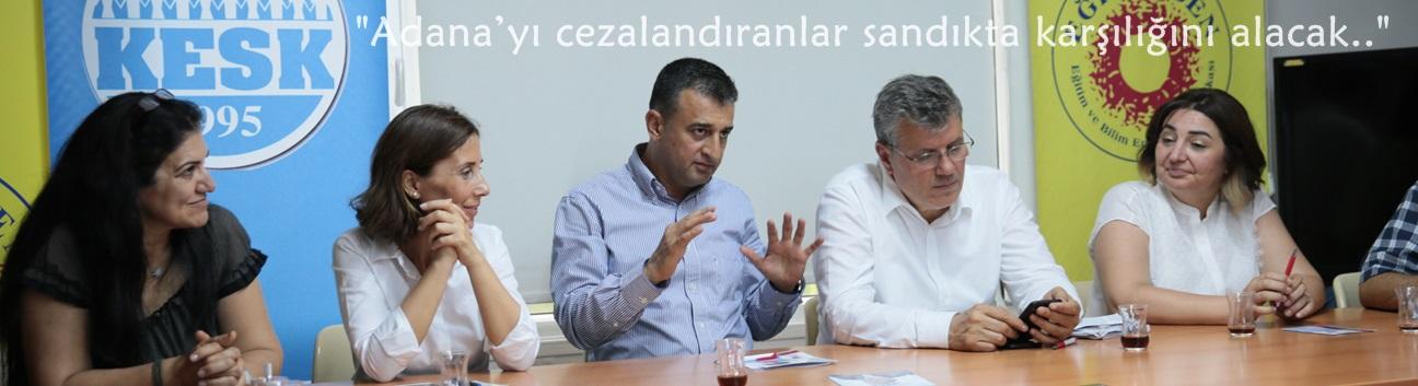"""Bulut: """"Adana'yı cezalandıranlar sandıkta karşılığını alacak.."""""""