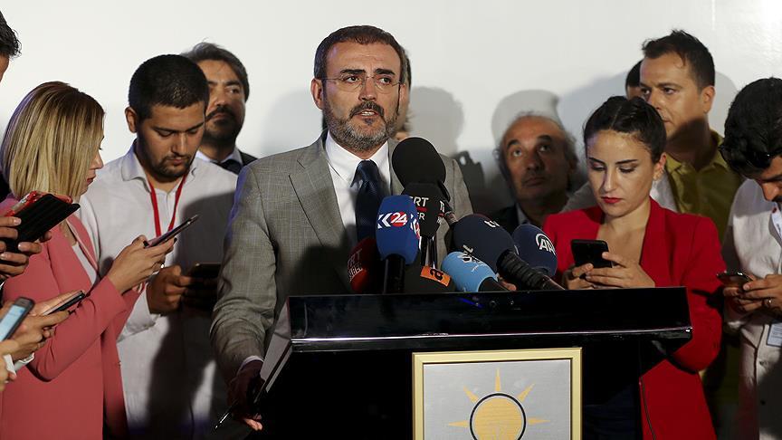 Ünal: Anadolu Ajansının hedefe konularak tehdit edilmesi kabul edilemez