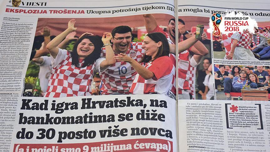 Hırvat basınında 'tarihi zafer'in yansımaları