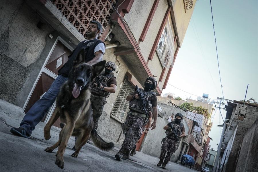 Adana merkezli terör operasyonu