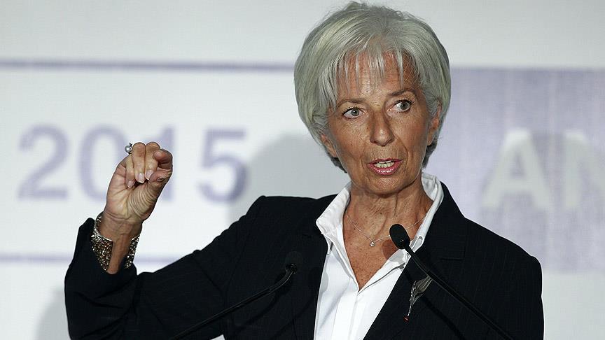 """ECB Başkanı Lagarde: """"Avro Bölgesi için riskler aşağı yönlü, Kovid-19 büyümeyi olumsuz etkiliyor"""""""