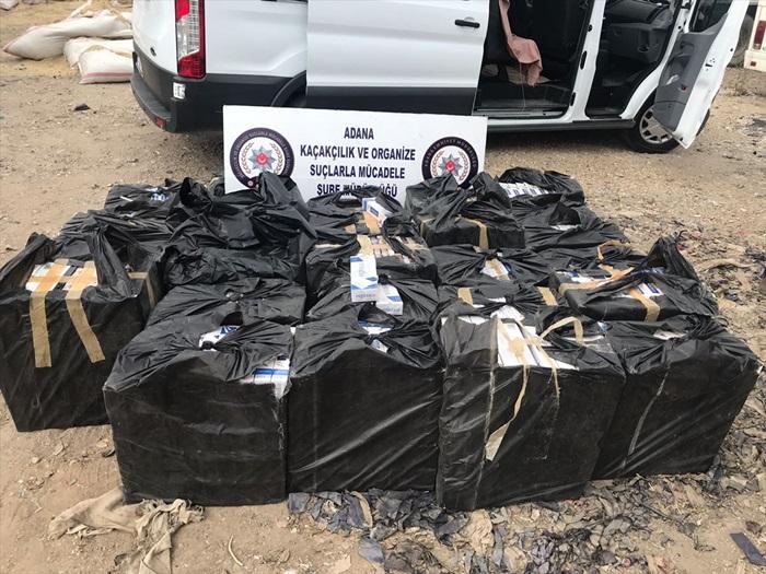 Adana'da kaçakçılık operasyonunda 7 kişi gözaltına alındı