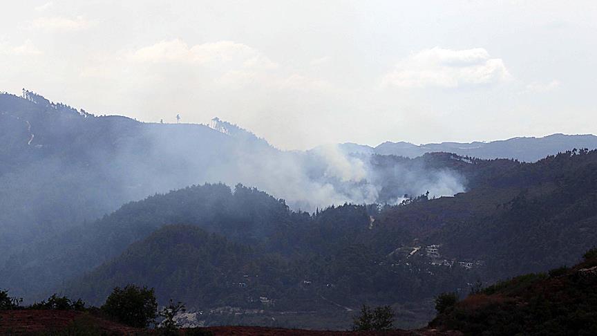 Esed rejimi Türkmendağı'na saldırı başlattı
