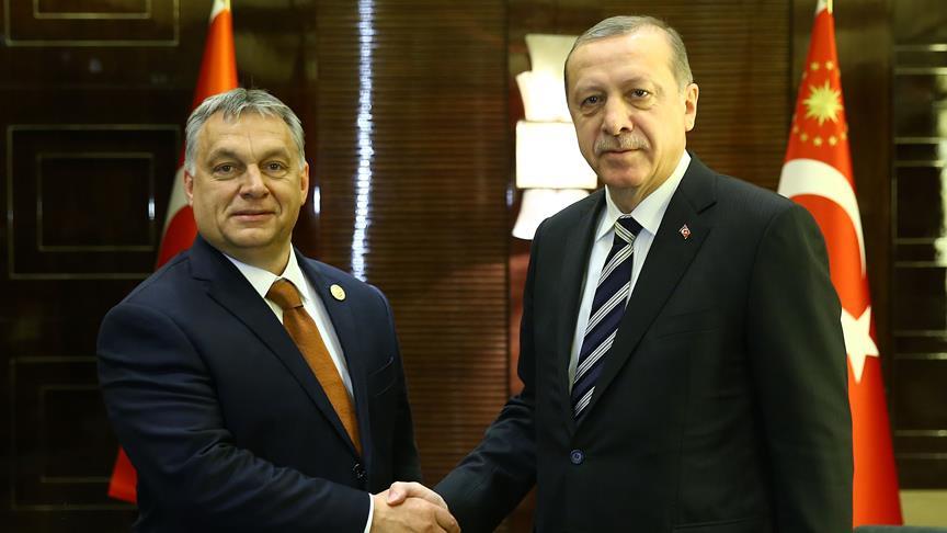 Erdoğan ile Macaristan Başbakanı ortak basın toplantısı düzenliyor