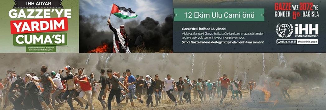 Gazze'ye Yardım Cuması