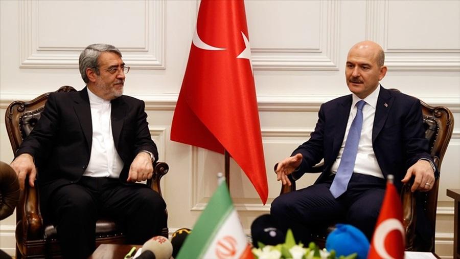İçişleri Bakanı Soylu İranlı mevkidaşını kabul etti
