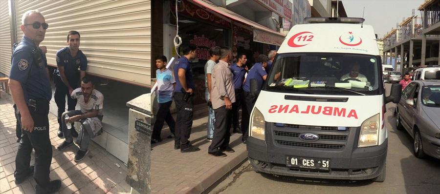 Adana'da saldırıya uğrayan kişi yaralandı