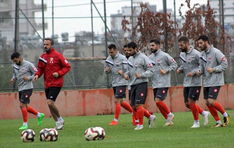 Adanaspor ara vermeden Hatayspor maçı hazırlıklarına başladı