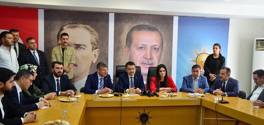 """Bakan Pakdemirli: """"31 Mart Yerel Seçimleri bir memleket meselesidir"""""""