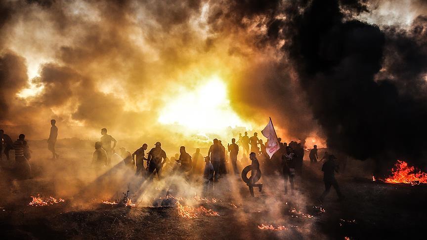 Gazze'deki gösteriler hedefe ulaşıncaya kadar devam edecek