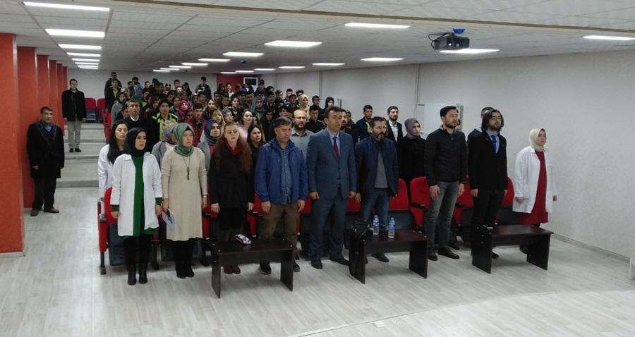 Hilvan Anadolu Lisesi'nde duygu dolu tören