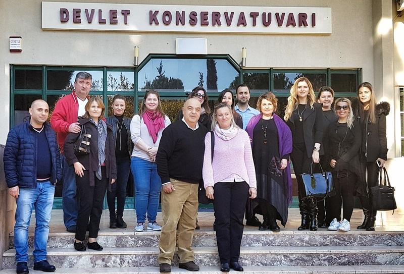 Devlet Konservatuvarı Yöneticileri Çukurova Üniversitesi'nde Buluştu.