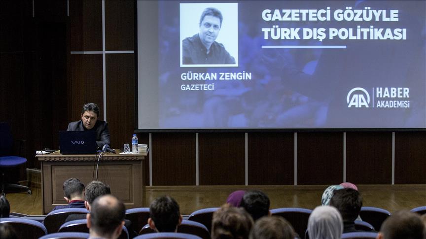 Gürkan Zengin deneyimlerini genç gazetecilerle paylaştı