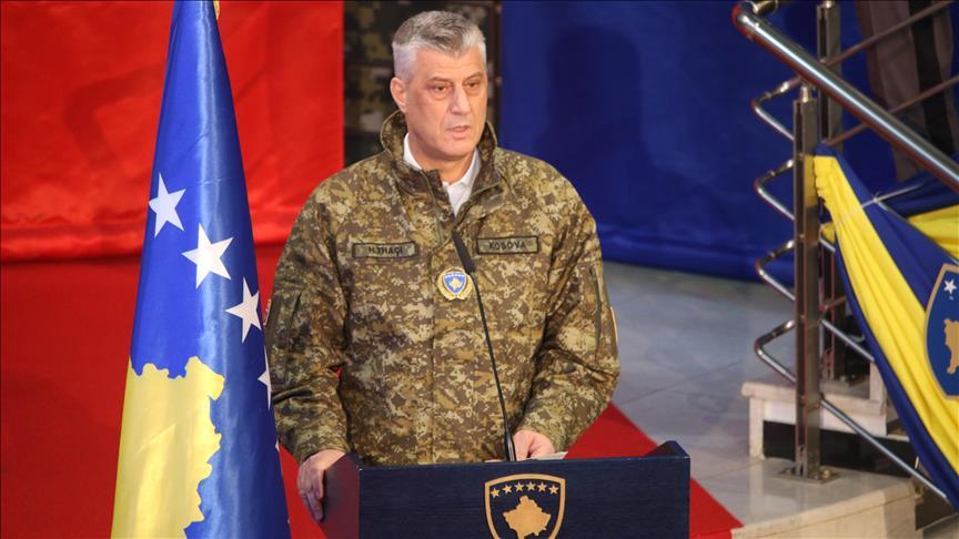 Kosova ordusunun kurulması dolayısıyla devlet töreni düzenlendi