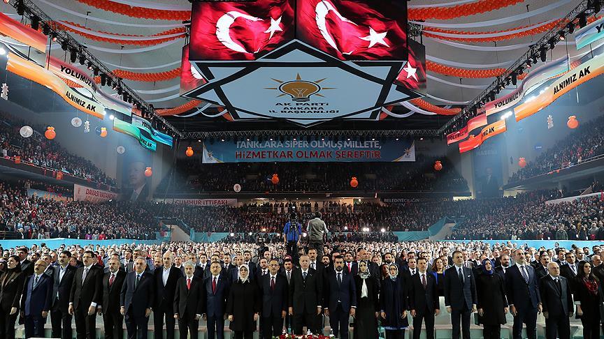 AK Partinin üye sayısı 10 milyonu geçti