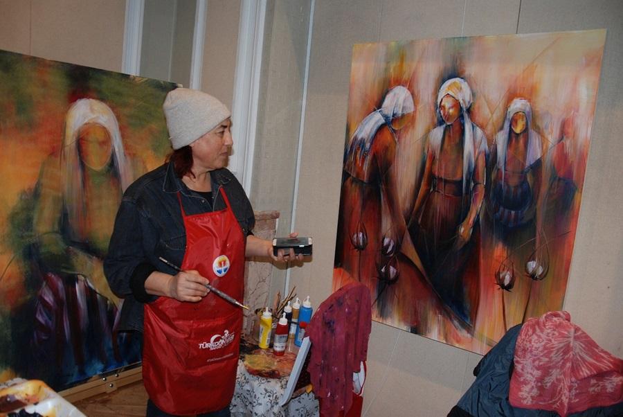 Adana'da 3. Uluslararası Sanat Çalıştayı..