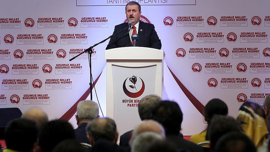 Destici: Devletimiz terörün tüm unsurlarına karşı mücadele veriyor