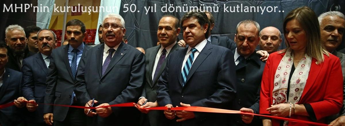 MHP'nin kuruluşunun 50. yıl dönümünü kutlanıyor