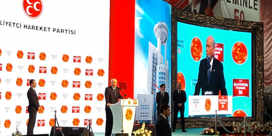 Bahçeli: Adana BTU Üniversitesi'nin yeni adı: Alpaslan Türkeş