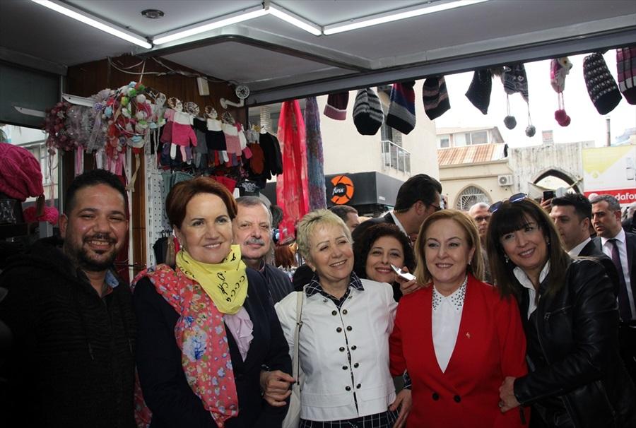Akşener ve Uysal'dan Mersin'de ortak aday tanıtımı
