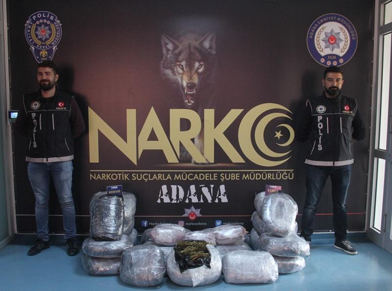 Adana'da uyuşturucu zanlıları yakalandı