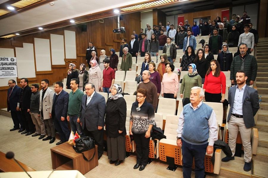 İstiklal Marşı'nın Kabulünün 98. Yıl Dönümü