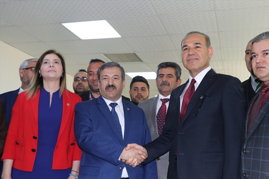 Adana'da BBP'den Cumhur İttifakı'na destek