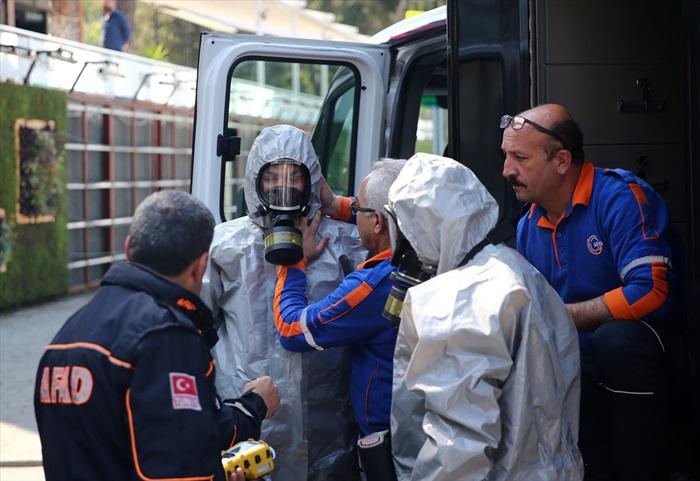 Adana'da radyoaktif madde operasyonu