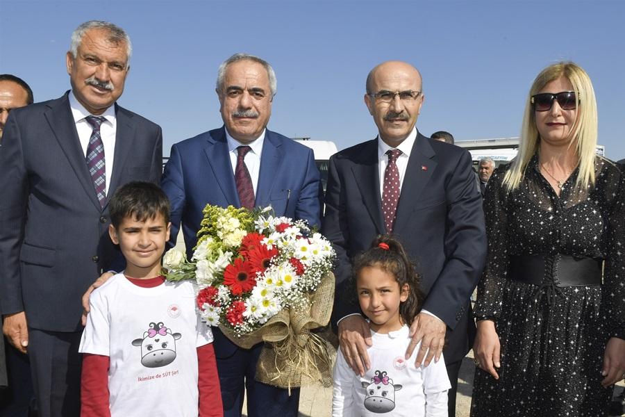 """Vali Demirtaş, """"Mera Islah Ve Amenajman Projesi""""nin Açılış Törenine Katıldı"""