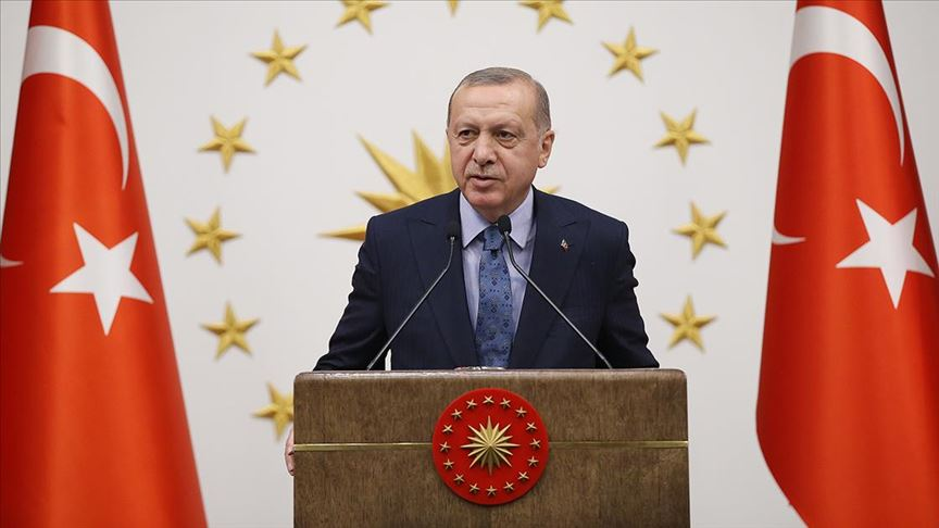 Erdoğan: Sahil Güvenlik Komutanlığımız karasularımız için en büyük güvencemiz