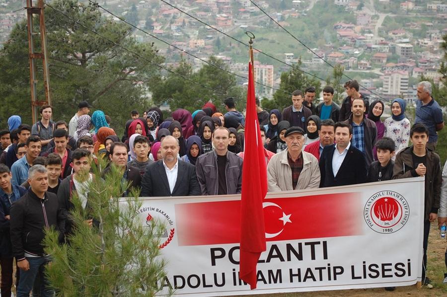 Pozantı Anadolu İHL'den geleneksel tarih yürüyüşü