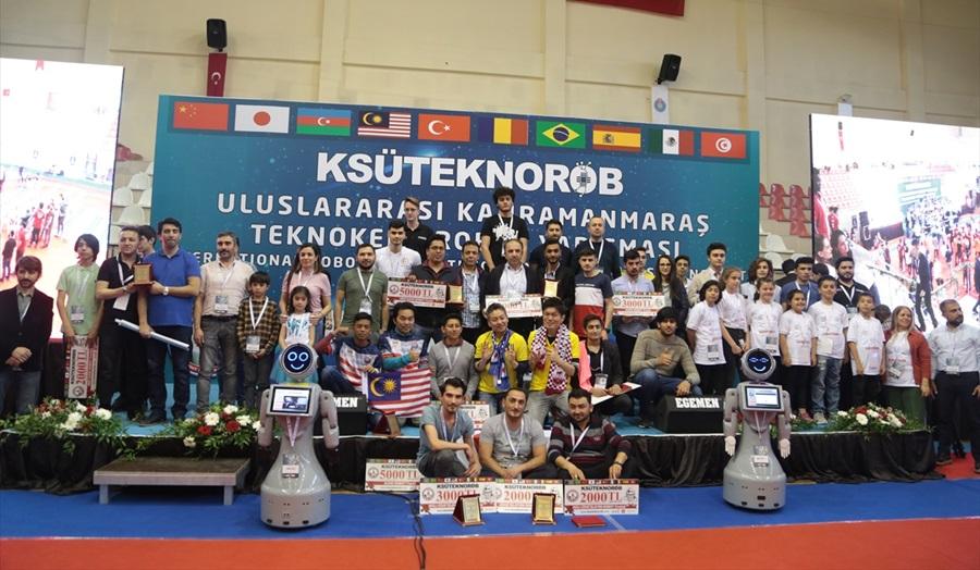 2. Uluslararası Kahramanmaraş Teknokent Robot Yarışması