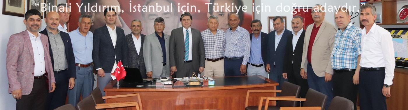 """Başkan Avcı: """"Binali Yıldırım, İstanbul için, Türkiye için doğru adaydır."""""""