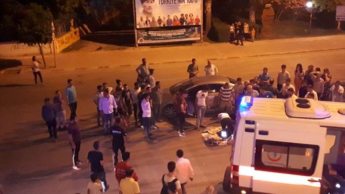 Adana'da otomobille motosiklet çarpıştı: 1 ölü, 1 yaralı