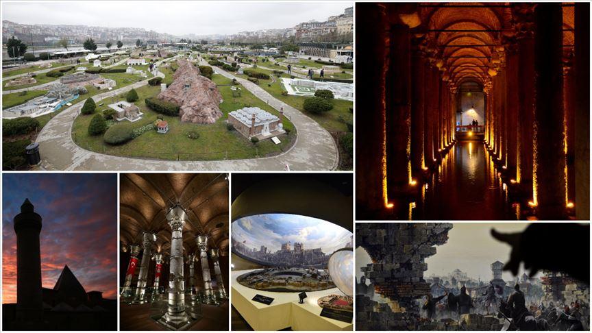 İstanbul'da 101 ecdat yadigarı eser ihya edildi