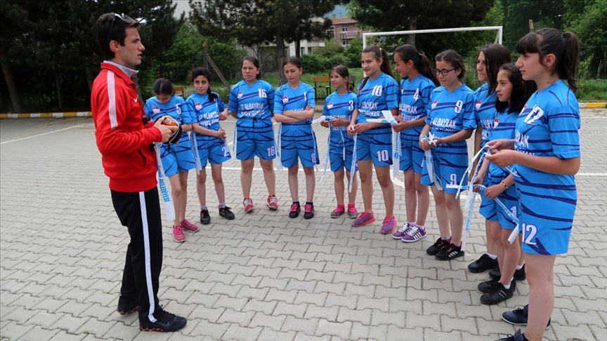 Patlak topla çalışıp Türkiye şampiyonu oldular