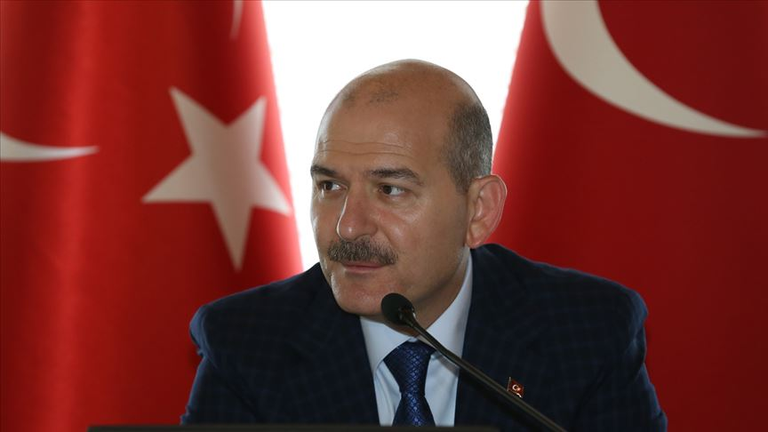 İçişleri Bakanı Soylu: Dünyanın hayretle takip ettiği bir göç politikası yönetiyoruz