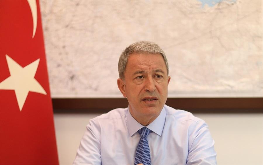 Bakanı Akar: Shanahan'ın mektubu müttefiklik ruhuna uygun değil, cevabı hazırlıyoruz