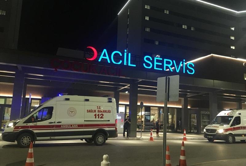 Adana'da anahtar dükkanında yangın