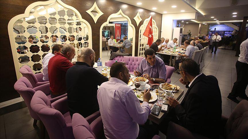 Filistin Türkiye Mezunları Derneğinden Ramallah'ta iftar