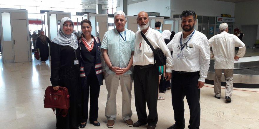 Adana'dan Hareket Eden Ramazan Umrecileri Kutsal Topraklardan Döndü
